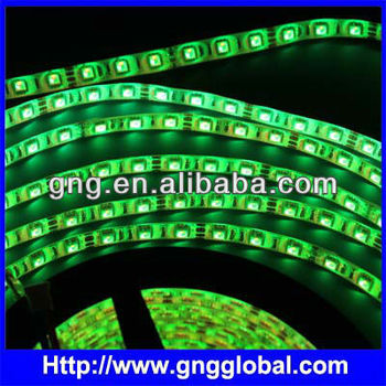 High Lumen green 5050 SMD waterproof led strip IP68