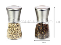 16oz stainless spice grinder with ggrinder with plastic top