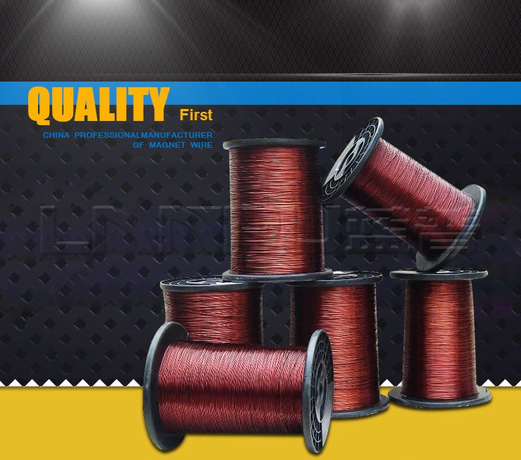 UL Approved Insulated Electrical Aluminum Enameled Coated Wire for Telephone
