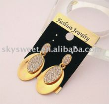 oblong earrings,bulk earring,expensive earrings(SWTER176)