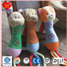 Cute animal customized stuffed toy baby plush toy manufacturer (PTAL0816157)