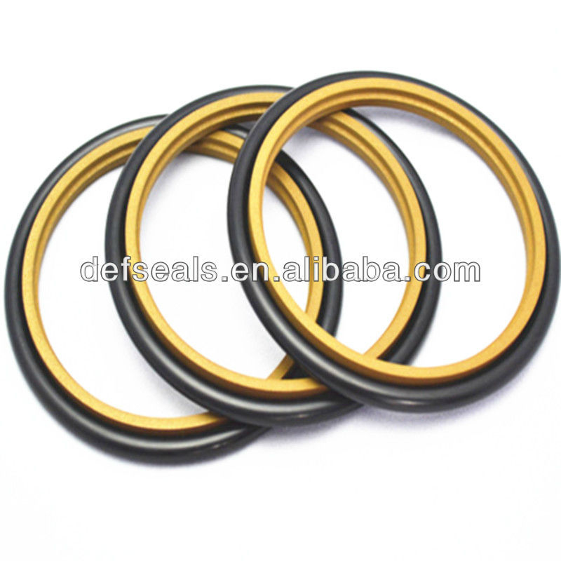 Factory Wholesale Hydraulic Oil Seal NBR/FKM/ PTFE Step Seal