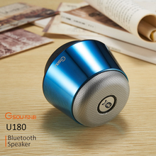 5W portable wireless mini bluetooth digital speaker mini music car speaker with 3.5mm audio jack