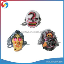 Custom cheap silicone ugly halloween party mask for children