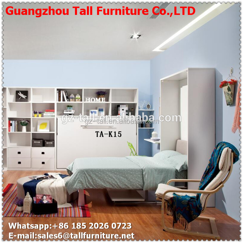Space saving innovative wall bed frame bed cabinet for Space saving bed frame
