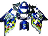 Full Fairing Kit for suzuki gsxr600 01-03 motobike fairings GSXR750