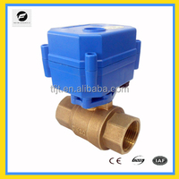 CWX-15N 2way low current motor valves for Irrigation equipment,drinking water equipment,