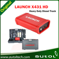 Launch X431 Heavy Duty Truck Module Diagnostic Tool For 12V/24V Diesel Engine Diagnostic Scanner
