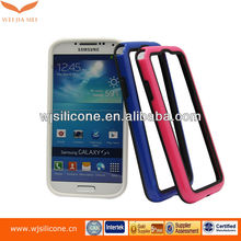 High quality TPU+PC bumper case for Samsung galaxy S4