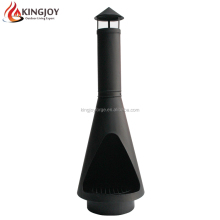 142CM Outdoor Steel Backyard Chiminea with Ash Tray