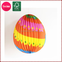hand made decoration pieces easter egg for wall hanging decoration