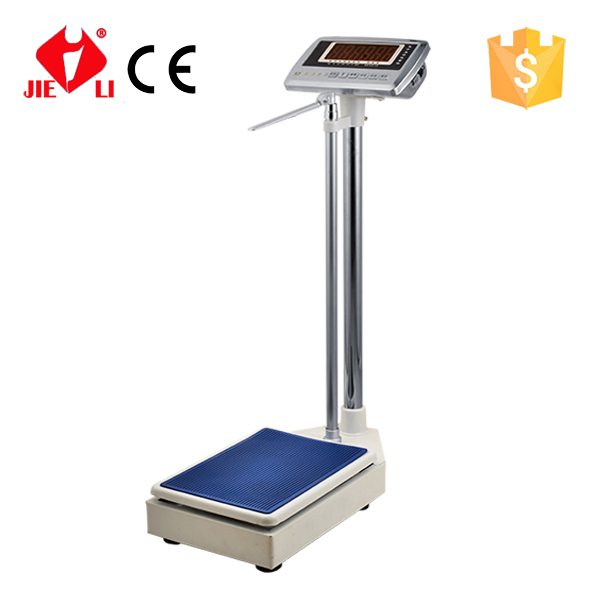300kg Electronic Personal Scale With Height Weight Measuring
