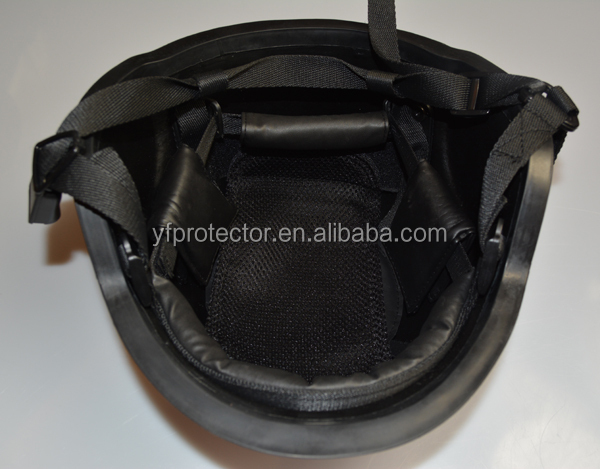 Combat and Military Anti Riot face shield visor for ballistic helmet