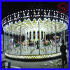 Classic Amusement Ride Equipment Electrical Carousel Horse