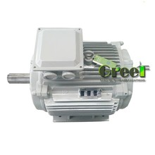50kW 500rpm 3 phase ac hydro turbine alternator , synchronous permanent magnet generator for sale