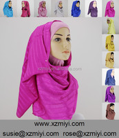 new design arab islamic muslim prayer hijab shawl scarves tube turban, hijab crinkle scarf