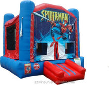 Commercial Inflatable Spiderman jumper,moonwalk,bouncer