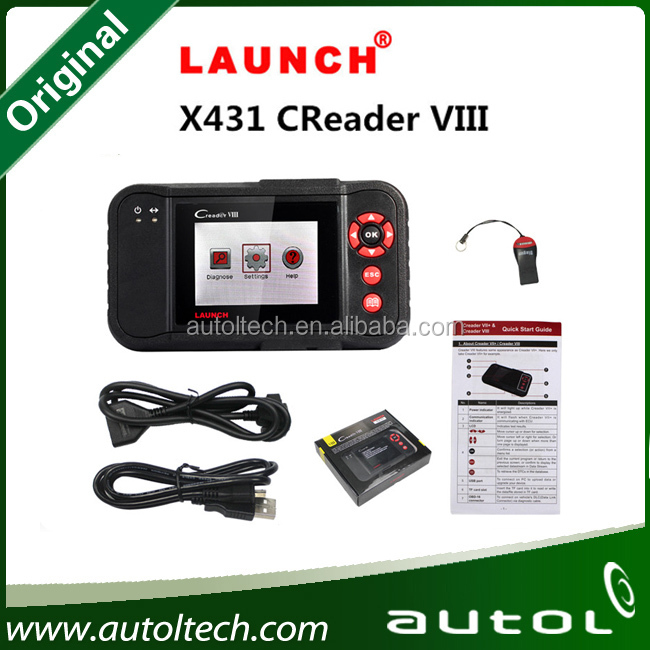[Genuine]Launch X431 Series Creader VIII Code Reader 8 Same Function of Launch Creader 8 free Internet Update