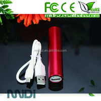 2600mah chinese power bank for gift/cylindrical powerbank for smartphone