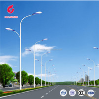 galvanized street light pole steel poles