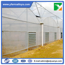 Large Size Agricultural Multi Span Plastic Film Covering Greenhouse