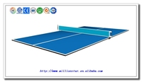 high quality DG Millionstar LS-TT71018 12mm PB or MDF ping pong table cover tennis table cover table tennis cover
