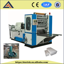 Best selling and low price hand towel paper folding machine supplier