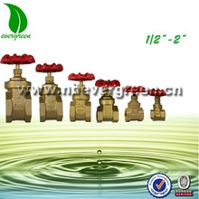 Water and gas Brass Stem Gate Valve