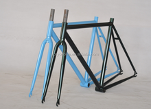 700c cromoly frame+fork+seatpost+clamp+headset fixed gear bike mauntain bicycle frame track bike frame