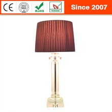 Modern Fashion Luxury Crystal Table Lamp for hotel home decoration