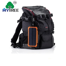 Mytree Dual Usb Ports 20000mah Charger Led Torch Light Portable Mini Solar Power Bank 20000mah With Led Lights