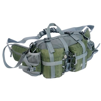 Wholesale Mens Nylon Waterproof Multi Function Waist Pack Bag