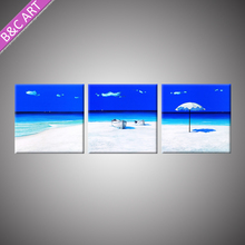 BCP17-04442 Lastest Picture Design Natural Scenery Art Modern Beach Painting