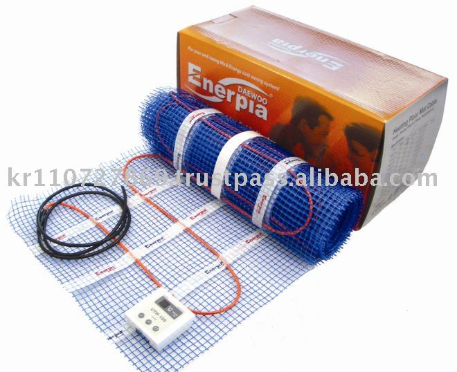 Sistema de cable de calefacci n por suelo radiante mat - Calefaccion por suelo radiante precio ...