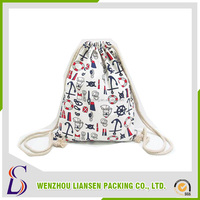 Cheap import products drawstring canvas bag new technology product in china