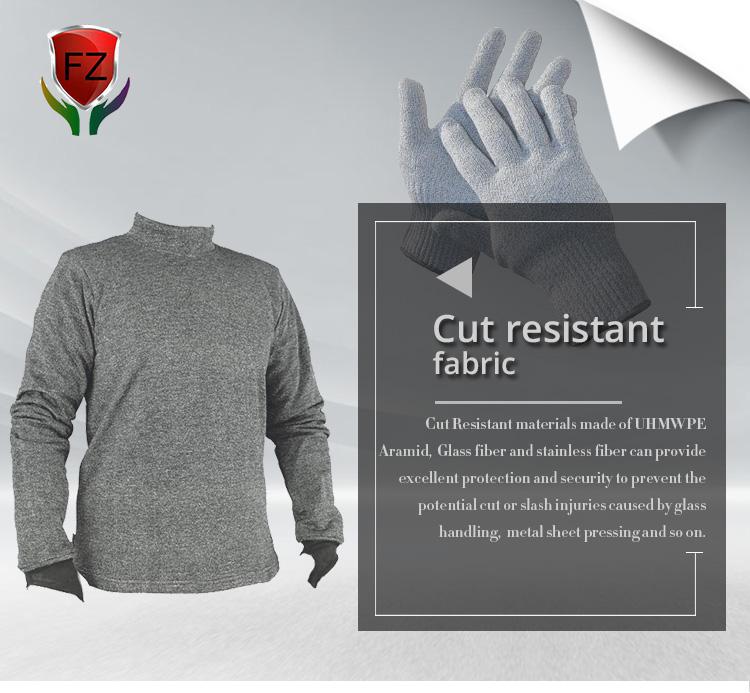 En gros meilleur ponction preuve résistant à la coupure anti piercing tissé tissu
