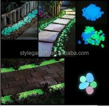 Garden Glow in the dark pebble stone