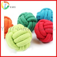 Pet Puppy Dog Cotton Rope Chew Toys For Teeth Cleaning