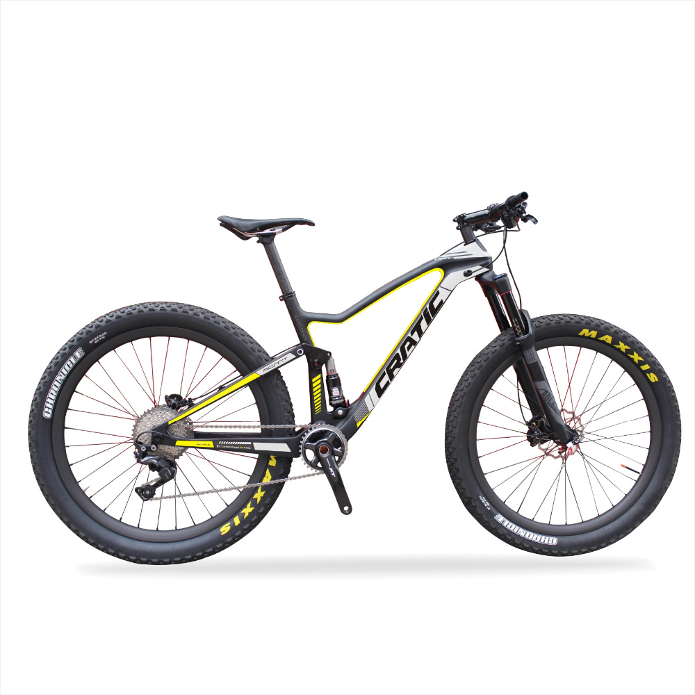 CRATIC Launch 2018 Enduro Marathon Full Suspension Bike 29er DEORE XT 11 speed