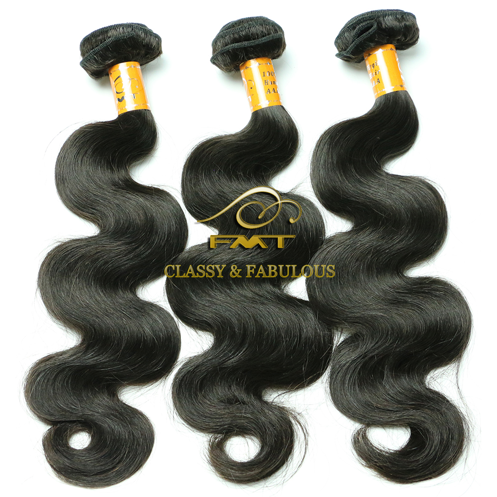 Factory directly wholesale 100% raw 8A grade body wave natural color virgin brazilian hair