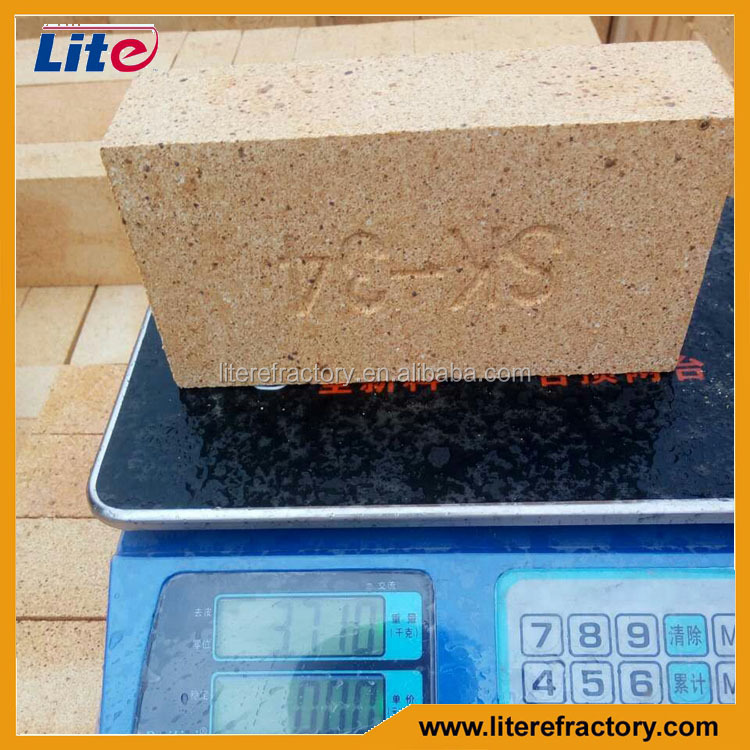 manufacture slag resistance clay brick for molten steel ladle