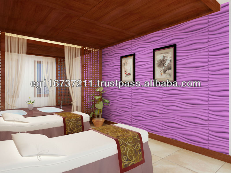 3 D decoration material