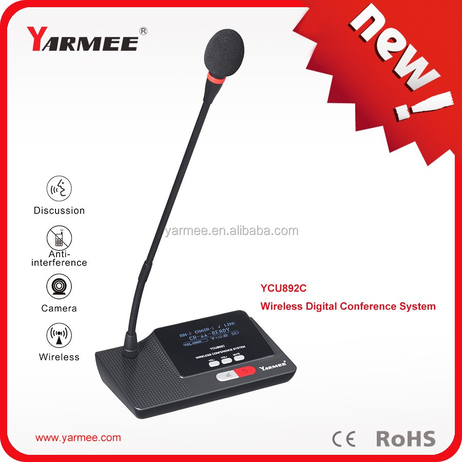 Desktop conference microphone wired digital conference system