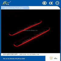 Newest product led car logo door light for Buick Excelle GT 2010-2014 sill door light
