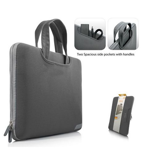 black color cool notebook mini bag with waterproof neoprene