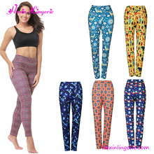 Custom Service 92 Polyester 8 Spandex Super Soft New Mix Leggings Wholesale