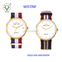 2016 New Factory Manufacturer OEM Thin Nato Strap Watch