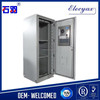 42U metal enclosure electronics/telecom steel cabinet with heat exchanger/ip55 outdoor rack SK-345 for equipment