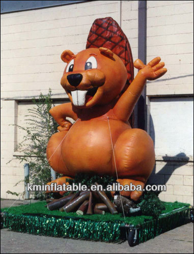 large inflatable beaver