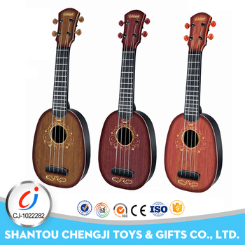 New low price musical instrument toy mini wooden guitar for kids